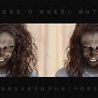 Buttress O'Kneel - PostPopSmearPop Dodgy Tie-in Merch by IWML