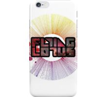 Colorful Cosmo Flying Lotus iPhone Case/Skin