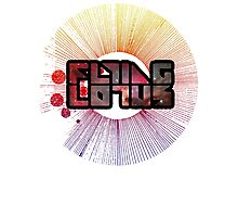 Colorful Cosmo Flying Lotus Photographic Print