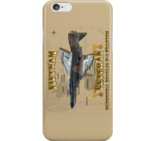 F-4 Phantom USAF Vietnam Veteran iPhone Case/Skin
