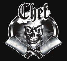 Chef Skull and Smoking Cleavers 3.1 by sdesiata