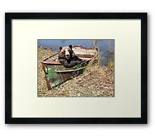 Goin' Fishing Framed Print