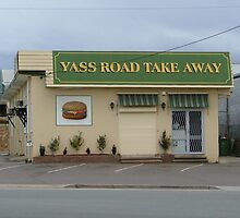 Yass Road Take Away by Anthony J Taylor