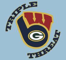 WinSconsin Triple Threat Kids Clothes