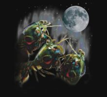 Mantis Shrimps Howling at the Full Moon by Alexander Curtiss