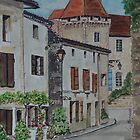 Watercolour         Perigord, France                               by Irene  Burdell