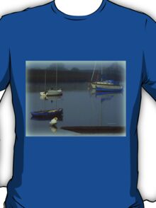 Boats in the Mist T-Shirt