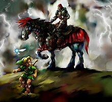 The Legend of Zelda by Kyubii