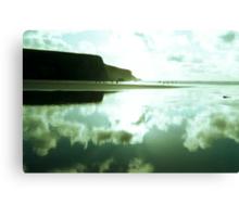 Evening on Morgan Porth Beach Canvas Print