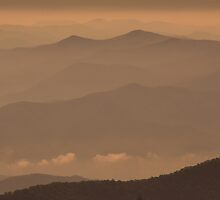 Early Morning Smokies by Gary L   Suddath
