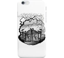 Southern Cemetery iPhone Case/Skin