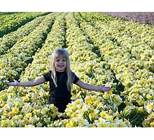 Outstanding In Her Field Photographic Print