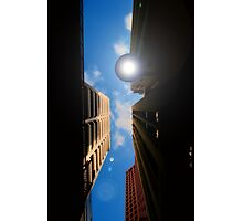 shining down on me Photographic Print