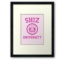 "Shiz University - Wicked ""Popular"" Version Framed Print"