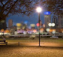 Bright lights in a little city by ellevrg