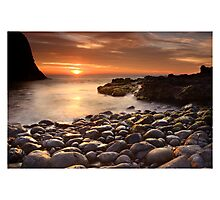 Sun and Stone Photographic Print