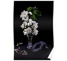Jasmine flowers Poster