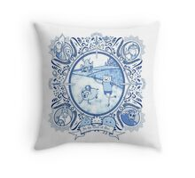 Awesome Adventures Throw Pillow