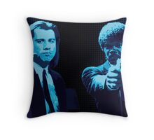 Vincent and Jules - Pulp Fiction (Variant 2 of 2) Throw Pillow