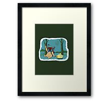 The Best Picnic Basket Hunter in The Galaxy Framed Print