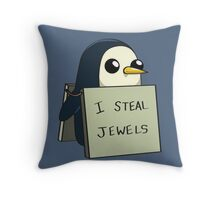 Adventure Time Gunter Throw Pillow
