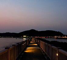 Straight Way to the Night - Hong Kong. by Tiffany Lenoir