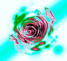 The Paper Trips Trippy Rose by PaperTrips