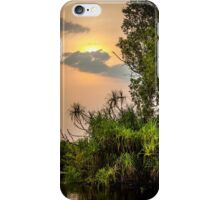 Yellow Water Sunset iPhone Case/Skin