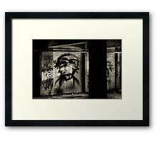 Those That Wait In Shadows Framed Print