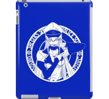 Jaegers Special Police Squad - White iPad Case/Skin
