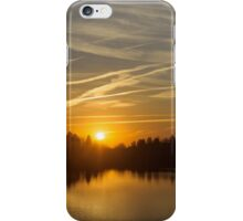 Cool Contrails and Sunshine iPhone Case/Skin
