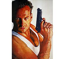 Die Hard Photographic Print