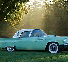 1957 Ford Thunderbird 1 by DaveKoontz