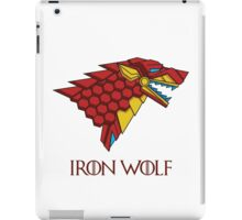 HOUSE STARK - IRON WOLF iPad Case/Skin