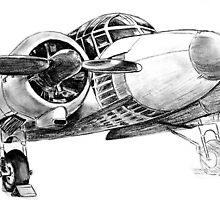 WW2 Avro Anson by Woodie