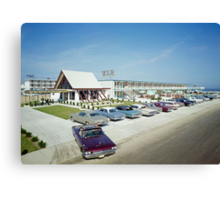 VIP Motel in Wildwood New Jersey from the 1960's Canvas Print