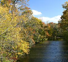Little River In Townsend Tennessee by Gary L   Suddath