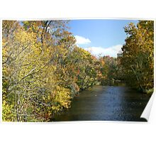 Little River In Townsend Tennessee Poster
