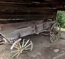 Old Wagon by Gary L   Suddath