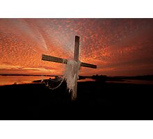 GOD'S OWN PAINT BRUSH Photographic Print