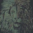 Lion camo by weirdbird