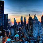 Looking West from 6th Street Manhattan, NYC. by delobbo