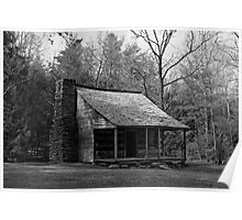Carter Shields Cabin Poster