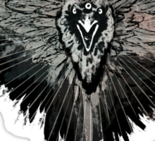 Valar Marghulis Crow shirt Sticker
