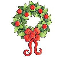 Classic Christmas Wreath by JeanneCarr