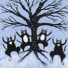 Cats Winter Celebration by Ryan Conners