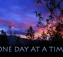 One Day at a Time Spring Sunrise by serenitygifts
