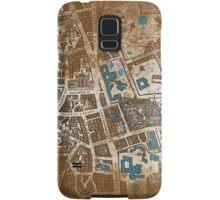 Distressed Maps: His Dark Materials Lyra's Oxford Samsung Galaxy Case/Skin