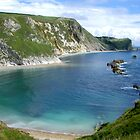 Durdle Door Bay (2) by Gordon Hewstone
