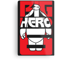 Big Hero 6 Baymax Metal Print